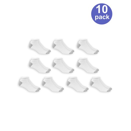 7f9b4f7b7 Athletic Works - Men s No Show Socks 10 Pack - Walmart.com
