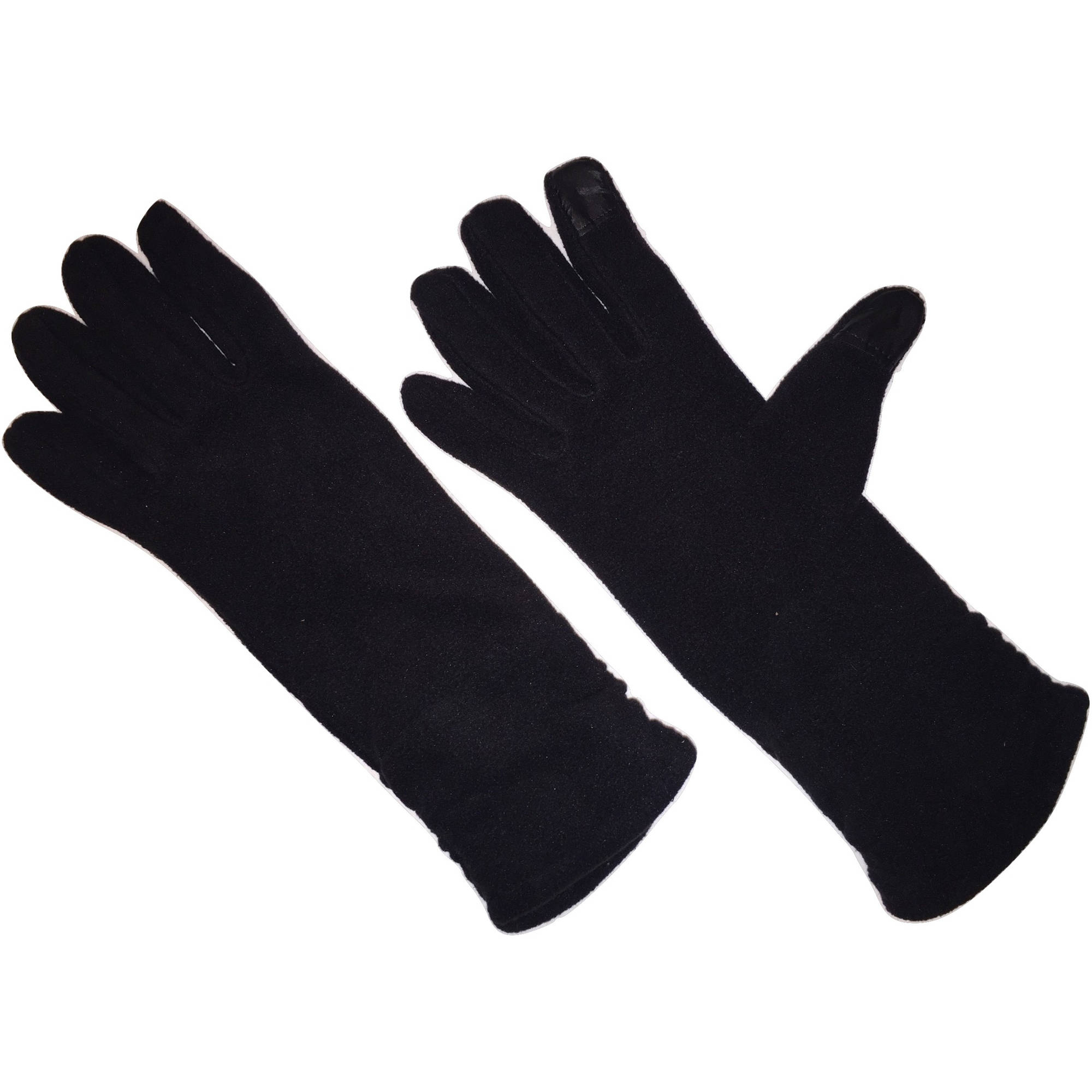 HANDS ON Ladies Touchscreen Fashion Fleece Glove