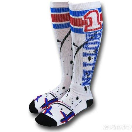 DC COMICS Suicide Squad Harley Quinn Rotten Knee High Socks