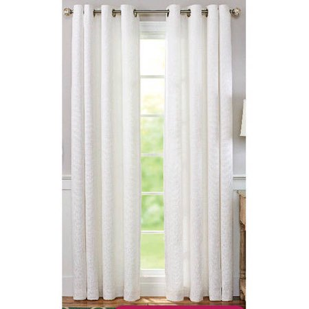 Better Homes And Gardens Solid Basket Weave Grommet Window