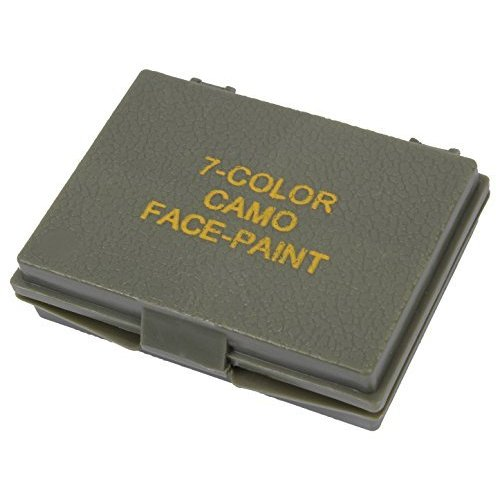 Rothco 7 Color Camo Face Paint Compact by