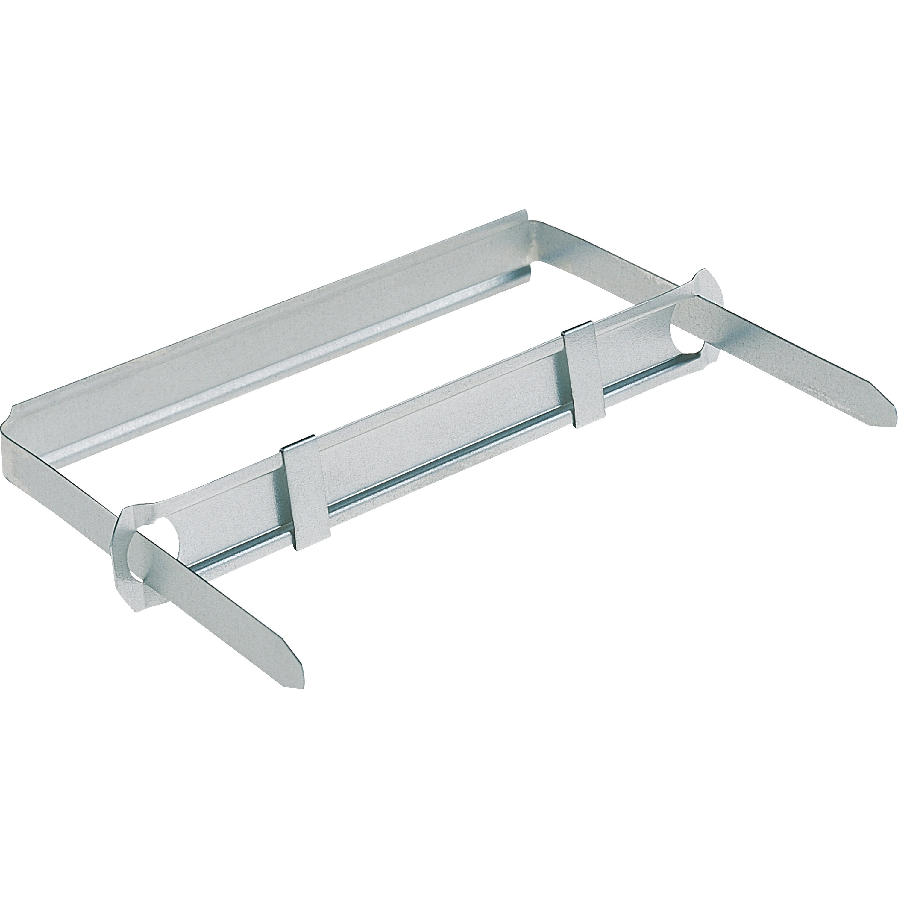 """Silver 8 1//2/"""" Center 50//Box Two-Piece Paper Fasteners Steel 3/"""" Capacity"""