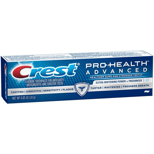 Crest Pro-Health Advanced Extra Whitening + Freshness Toothpaste, .85 oz