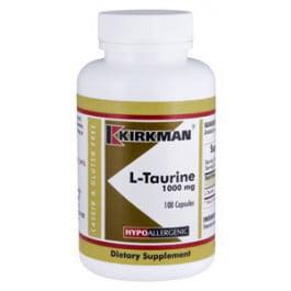 L-Taurine 1000 mg Capsules - Hypo 100 ct