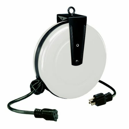 Retractable Extension Cord >> Alert Stamping 5000a 30gf S 30 Feet Single Tap Retractable Extension Cord Reel