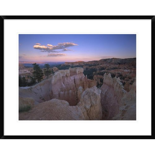 Global Gallery 'Bryce Canyon as Seen from Bryce Point, Bryce Canyon National Park, Utah' Framed Photographic Print