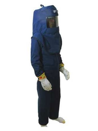 LNS4™ Series Arc Flash Hood, Coat, & Bib Suit Set OBERON COMPANY LNS4B-4XL