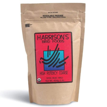 Harrison's High Potency Coarse 1lb …, Maximum Nutritional Formula for Medium to Large Birds By Harrisons Bird Foods