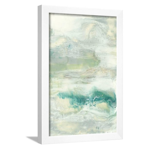 Serene Seafoam I Framed Print Wall Art By Jennifer Goldberger Walmart Com Walmart Com