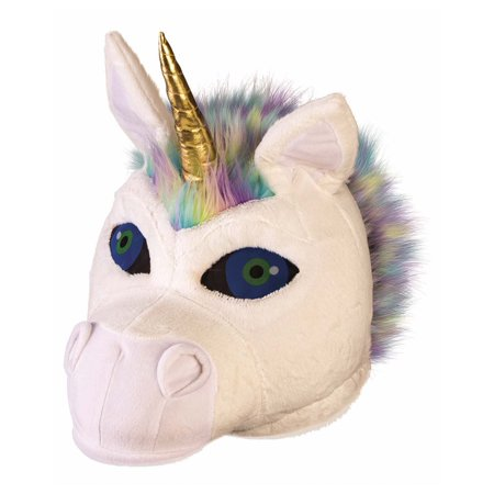 Unicorn Mascot Head Halloween Costume Accessory - 2 Person Unicorn Halloween Costume