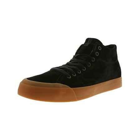 6b1122040f Dc Men's Evan Smith Hi Zero Maroon Ankle-High Leather Skateboarding Shoe -  8.5M ...