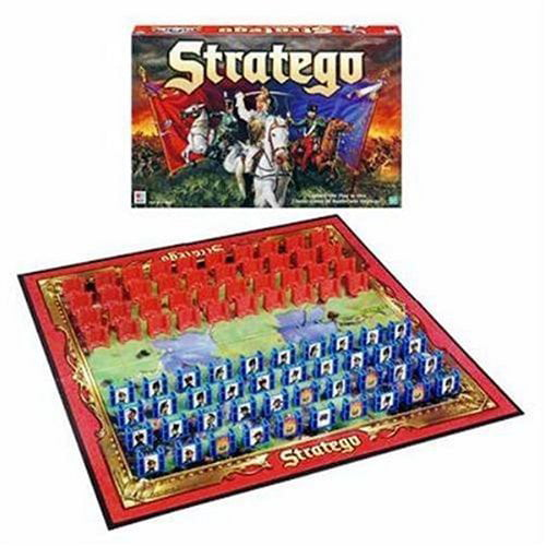 Click here to buy Stratego-Milton Bradley Board Games by Milton Bradley.