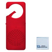 Bluetooth Wireless Hands Free Red Clip On Speaker For All Bluetooth Devices