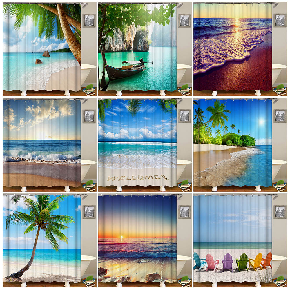 Lush Décor Bayview 72 x 72 Shower Curtain & Reviews