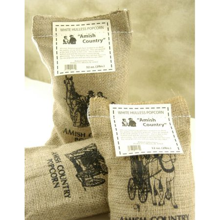 Wabash Valley Farms Tender Gourmet Popping Corn With Burlap Sack