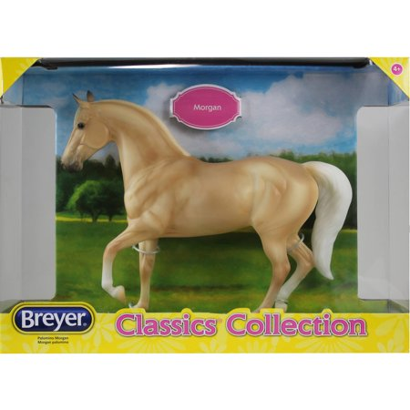 Breyer Classics Palomino Morgan Horse Toy (1:12 Scale)