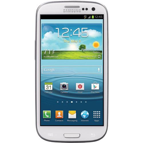 Refurbished Samsung SCH-S960L Galaxy S III LTE  Android Prepaid Phone (Net10)-White