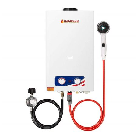 Camplux 10L 2.64 GPM Propane Gas Outdoor Portable Tankless Water
