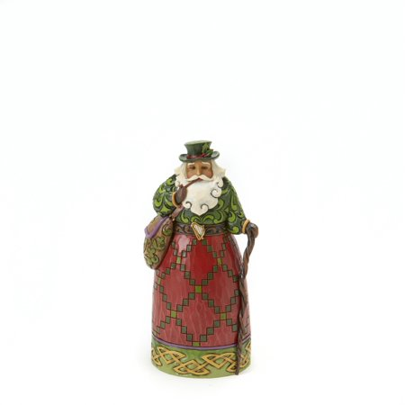 Santa's Around the World: Irish Santa Figurine (Other)