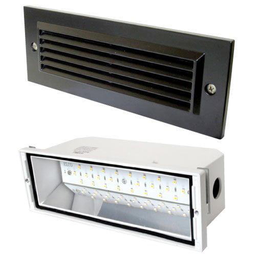 Elco Lighting ELST81BZ Diecast Aluminum LED Brick Light A...
