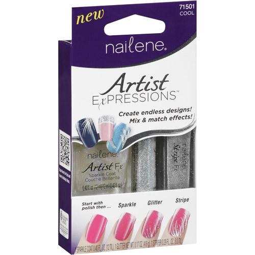 Nailene Artist Expressions Cool Nail Polish Kit