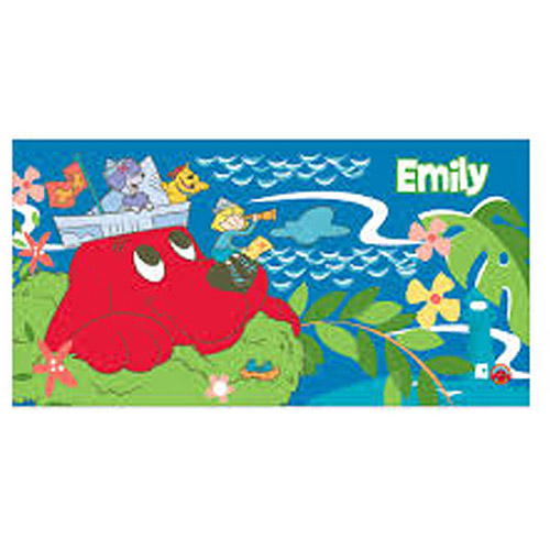 Personalized Clifford Island Treasure Beach Towel