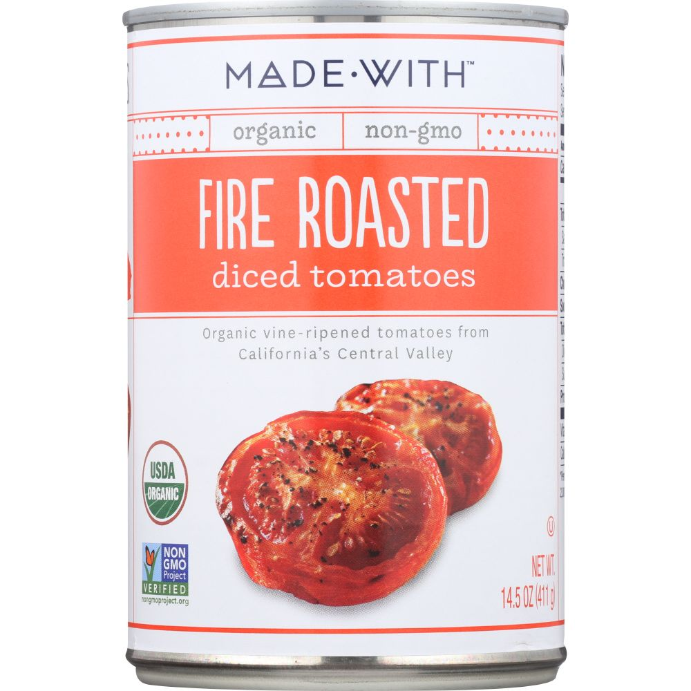 Made With Fire Roasted Diced Tomatoes, 14.5 Oz (Pack Of 12)