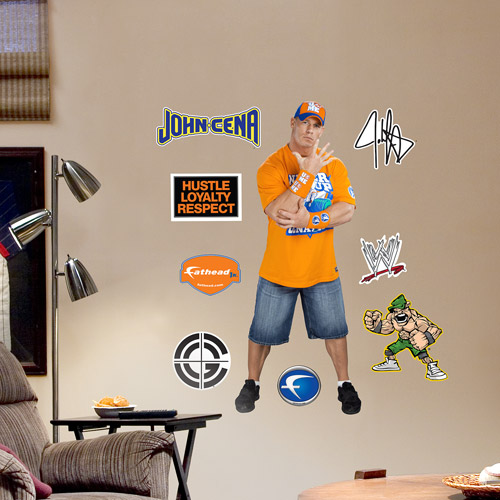Fathead WWE John Cena Junior Wall Decal