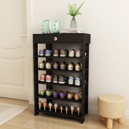 Dl Furniture 5 Tiers Shoe Bench Organizing Rack Entryway