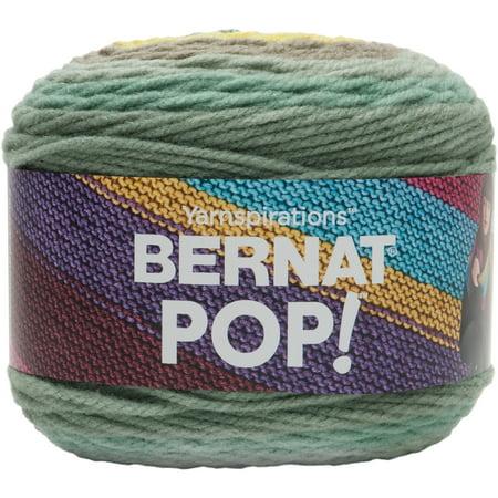 Bernat Acrylic Pop Radical Botanical Yarn, 1 Each