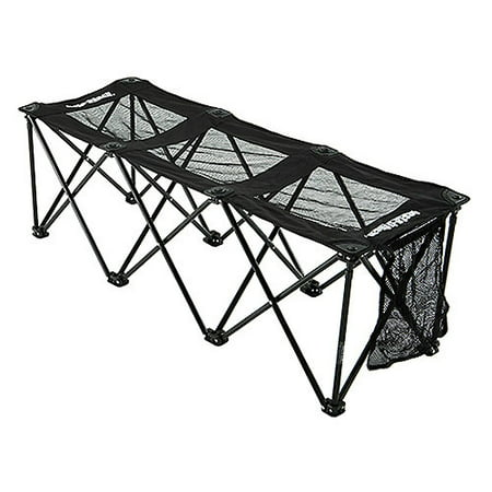 Insta Bench 3 Seater Portable Collapsible Mesh Sport Bench