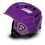 Briko 10.0 Contest Park & Pipe Purple Ski Helmet Size: Medium 57-58 CM