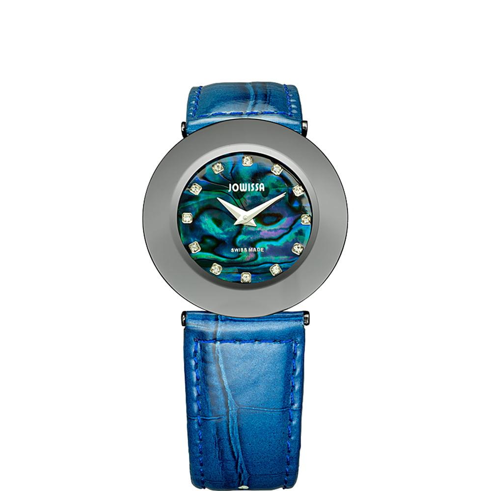 Jowissa Women's J1.064.L Safira 999 Rhinestone Blue MOP D...