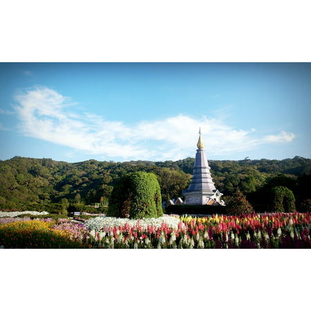 Canvas Print Wallpaper DOI Chiangmai Park Thailand Inthanon Stretched Canvas 10 x
