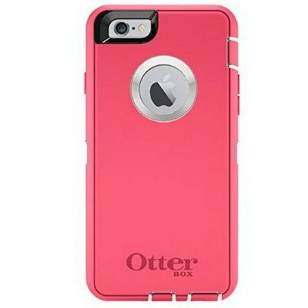 refurbished otterbox iphone 6 only case defender series neon rose whisper white blaze pink. Black Bedroom Furniture Sets. Home Design Ideas
