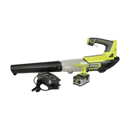ryobi tool. ryobi tools p2180 18v one+ 4.0ah lithium-ion jet fan blower kit tool
