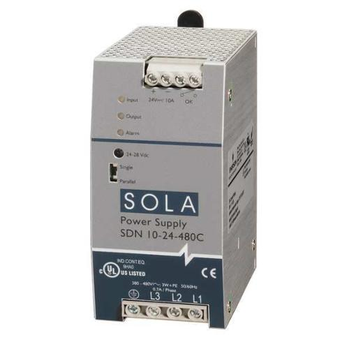 SOLA/HEVI-DUTY SDN10-24-480C DC Power Supply