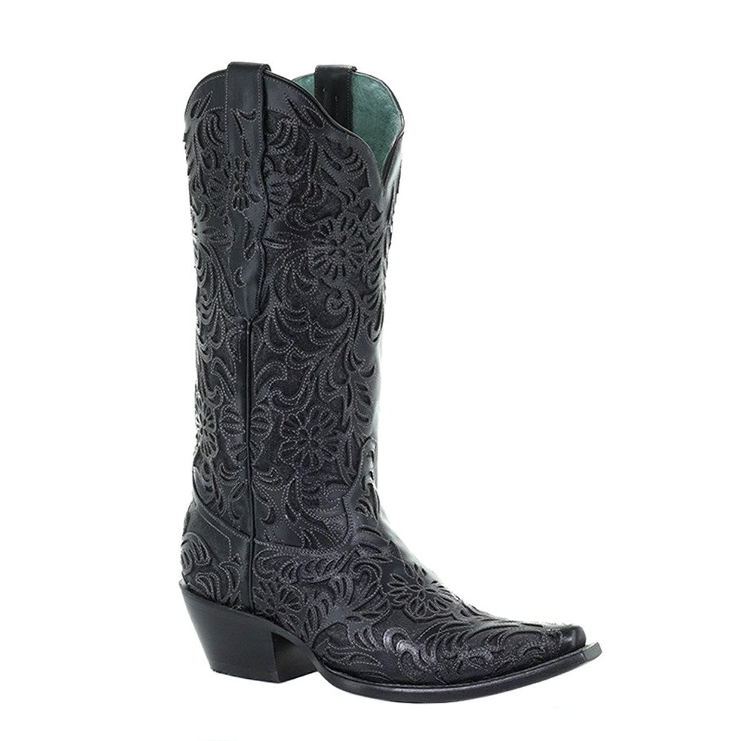 black womens corral boots
