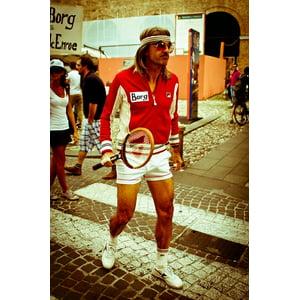 LAMINATED POSTER Tennis Diadora Fila Donnay Bjrn Mcenroe Borg Poster Print 24 x 36