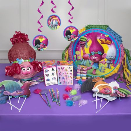 Trolls party supplies walmart trolls party supplies junglespirit Choice Image