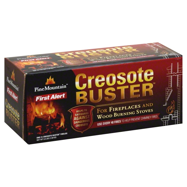 Pine Mountain Creosote Buster Firelog, 1.0 CT