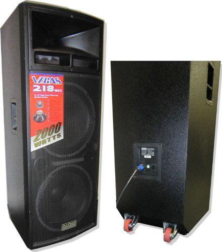DJ TECH VEGAS218MKII 3-Way PA Loudspeaker
