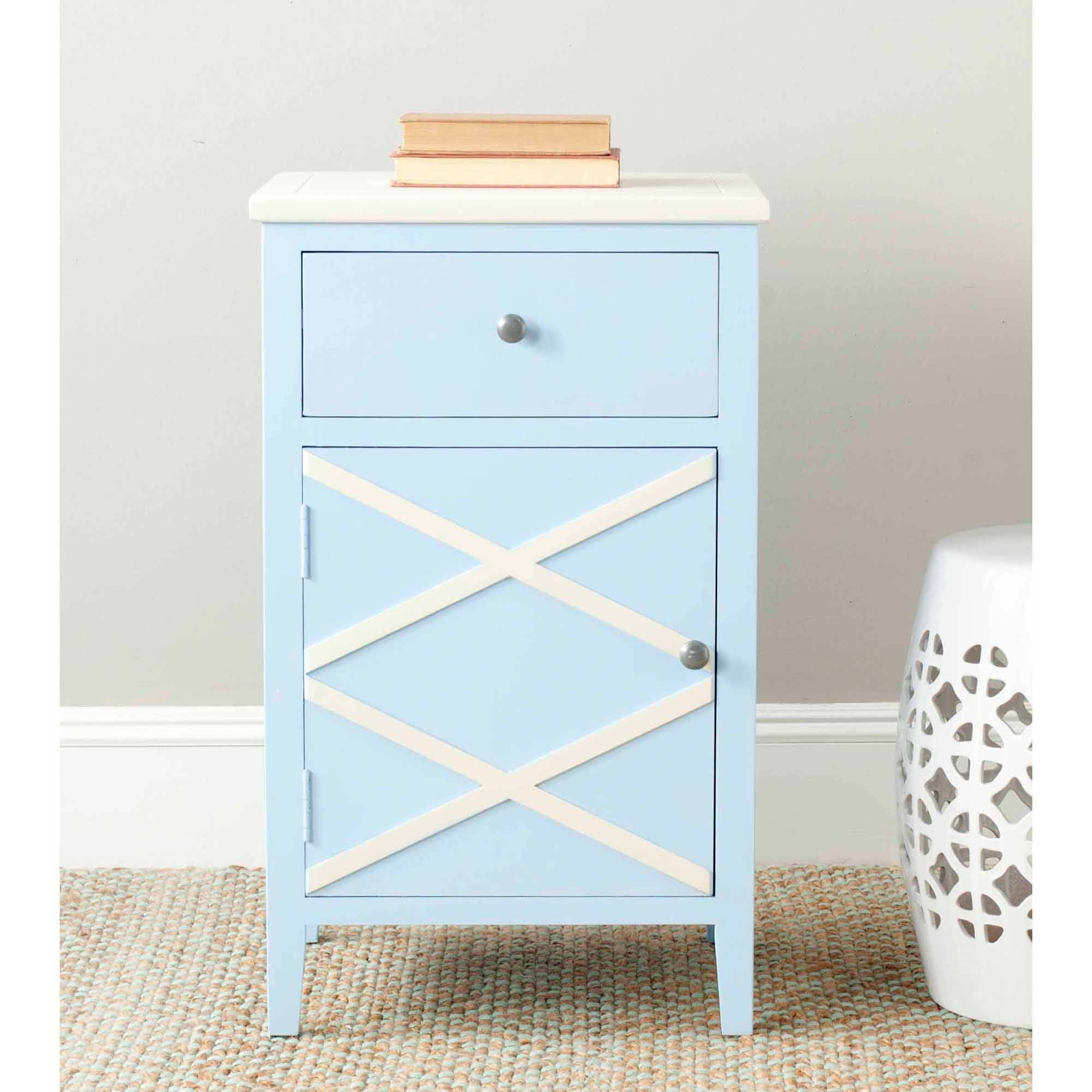 Safavieh Alan End Table, Multiple Colors
