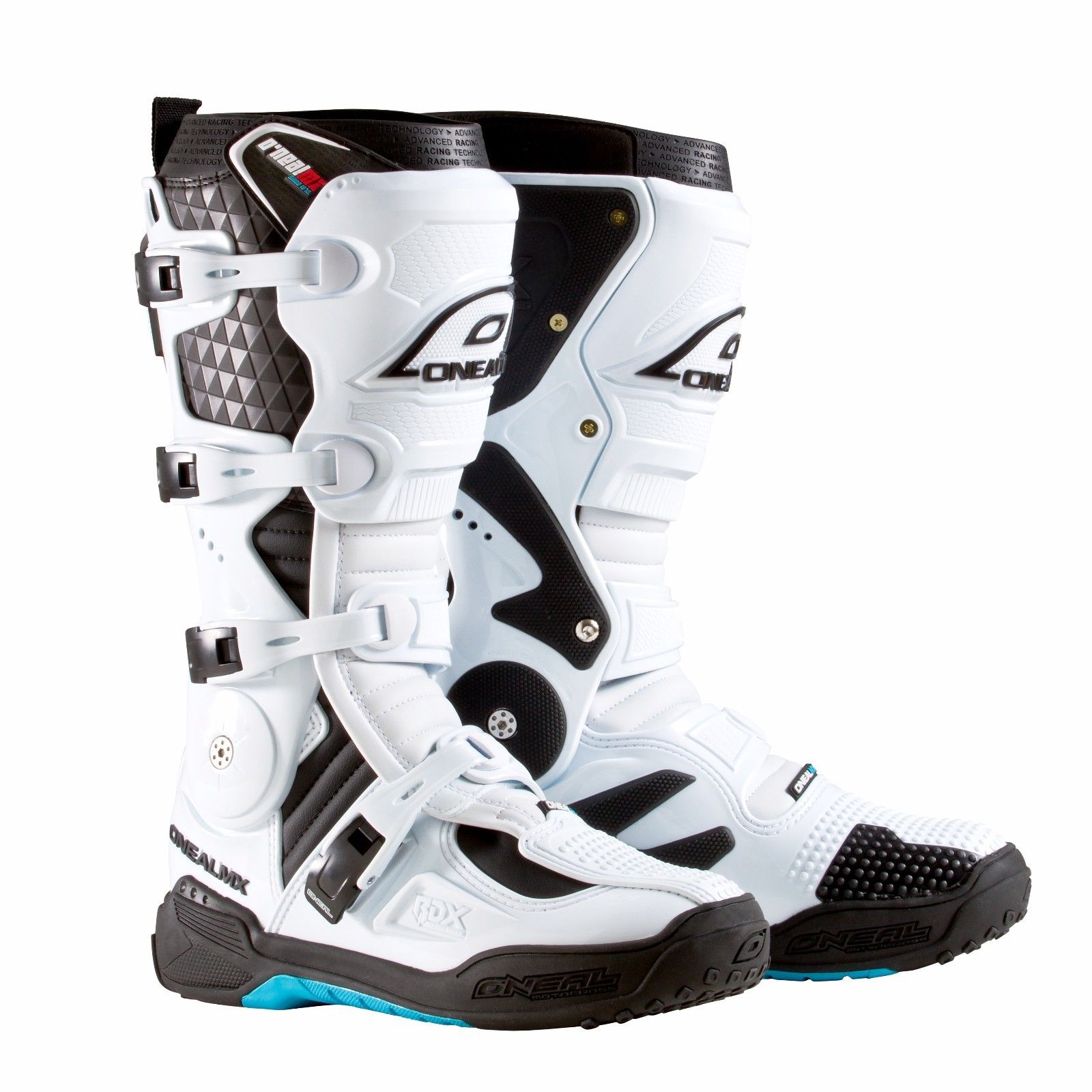 Oneal 2019 RDX 2.2 Offroad Motocross Boots - White - 0328