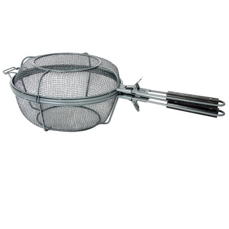 Image of Gibson Home Romford Non Stick Surface Grill Basket, Grey