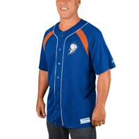New York Mets Majestic Cooperstown Collection Peak Power Fashion Jersey - Royal/Orange