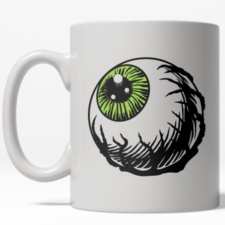 Eyeball Mug Funny Halloween Scary Coffee Cup-11oz