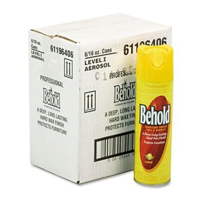 Ecolab Behold Furniture Polish - 61196406CS - 6 Each / Case