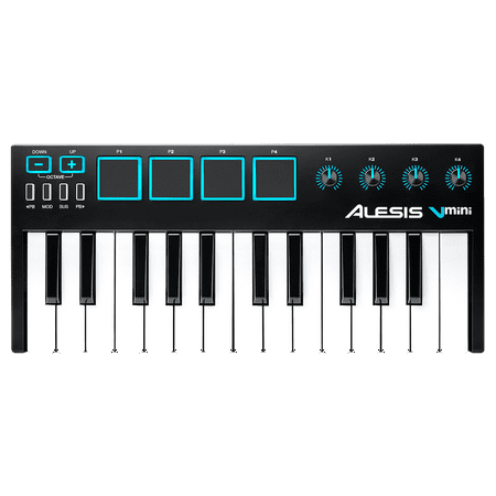 Alesis V Mini Portable 25-Key USB MIDI Controller