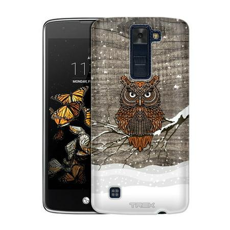 sports shoes f8c2a 6eaa3 LG X power Snowy Owl on Wood Slim Case